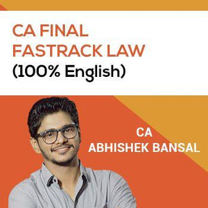Final Law Fastrack (100% English Recording) (Old/ New Syllabus)
