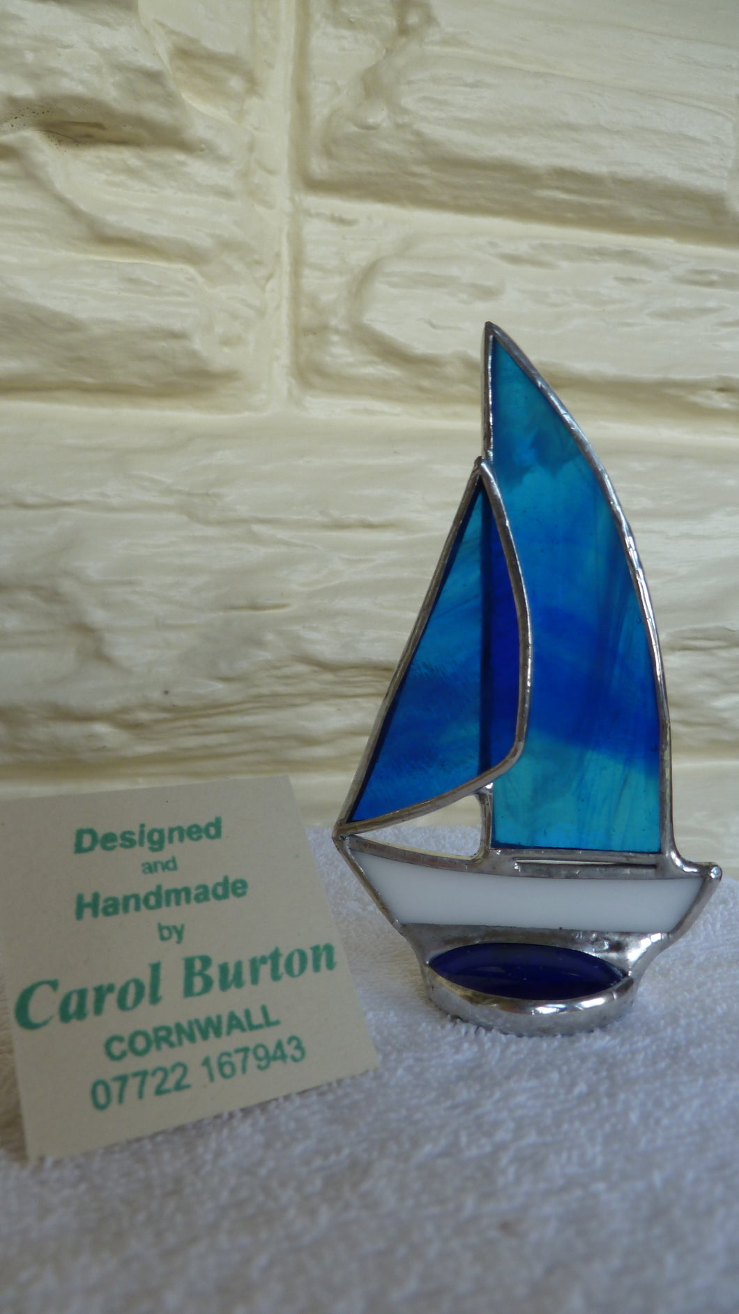 Burton, Carol - Little Yacht (Royal blue)