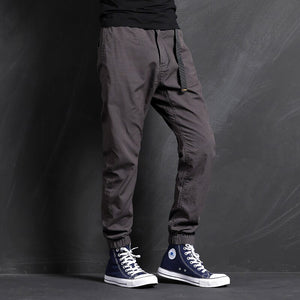 Mens Jogger Pants Cargo Camouflage Elatic Waist Army Jogging Casual Pant Male Streetwear Long Trousers