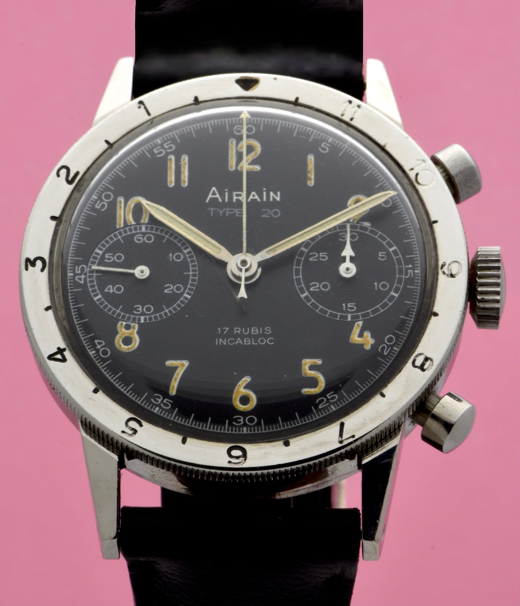 Airain Type XX Flyback Chronograph in Steel