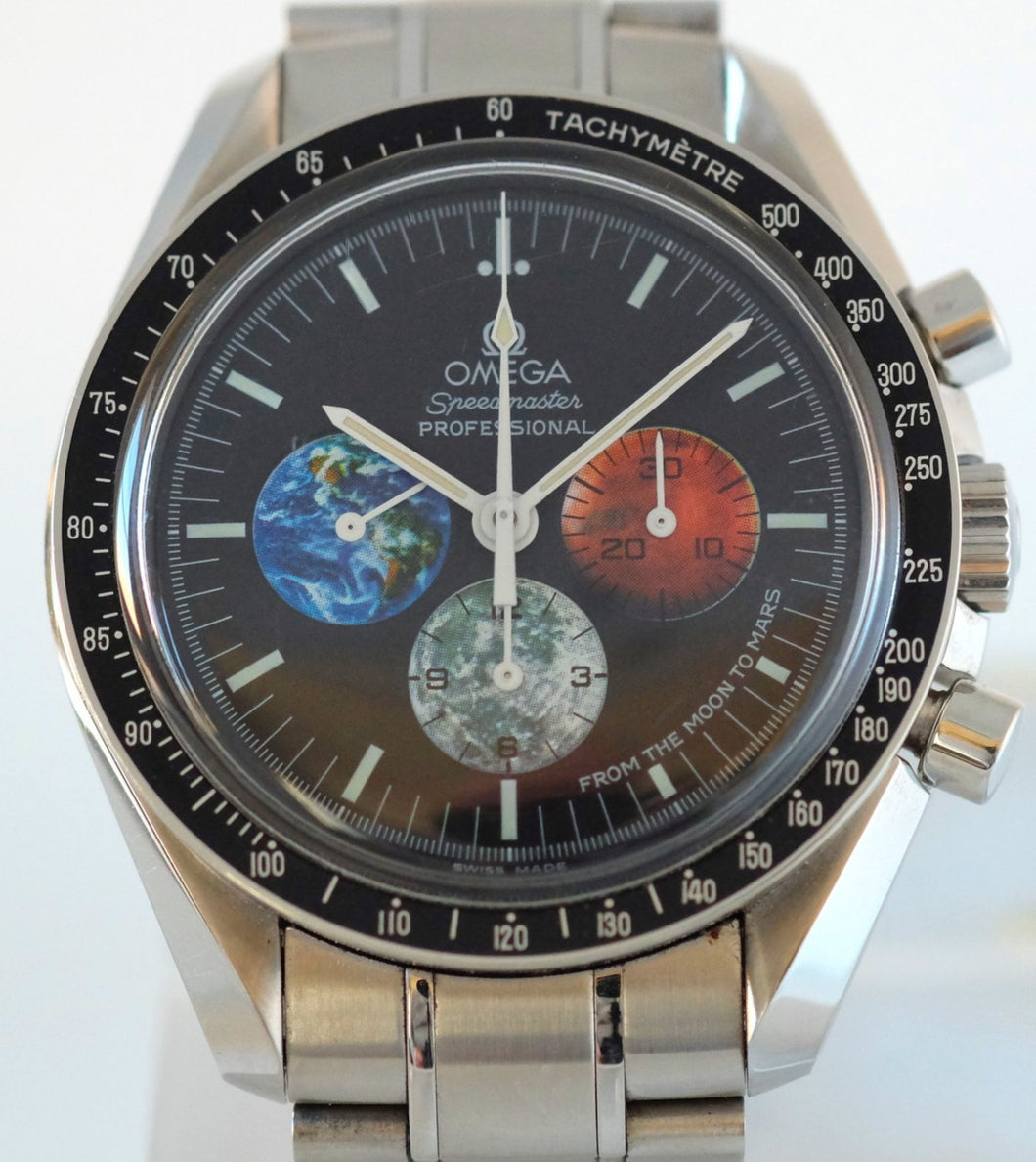 Omega Speedmaster Professional from Moon to Mars