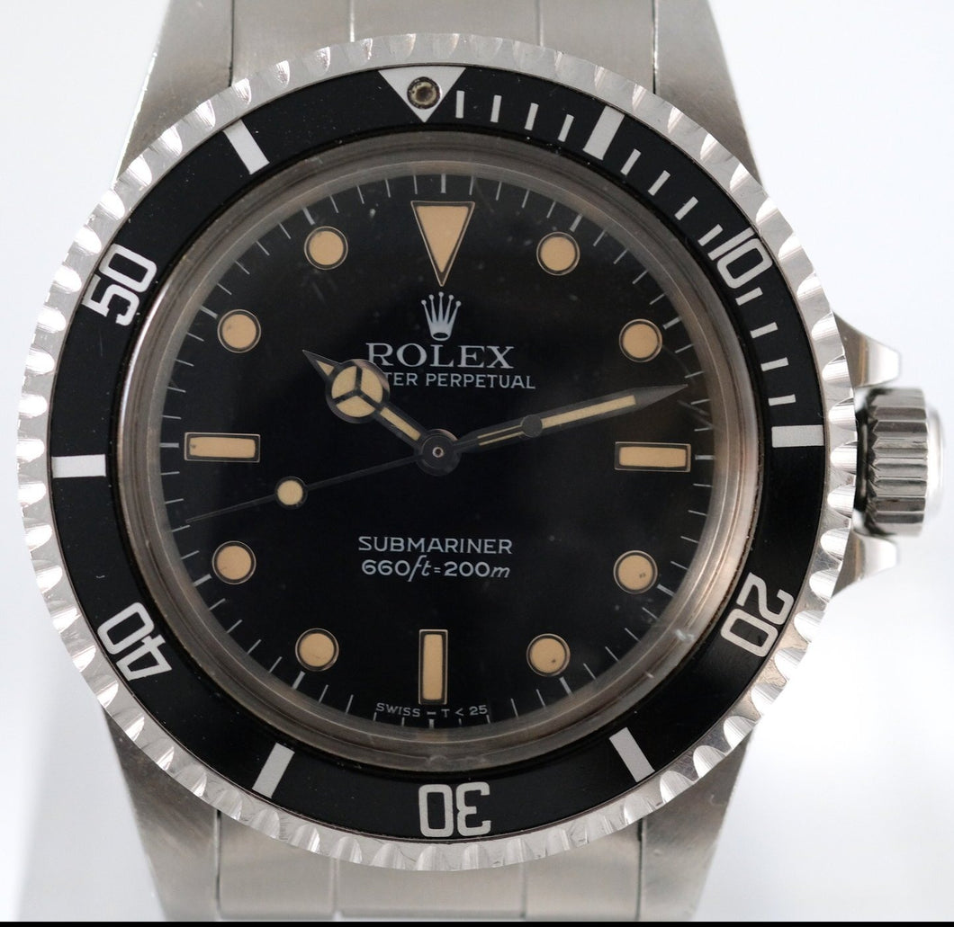 Rolex Submariner Ref. 5513 with Glossy Circled Indices Dial