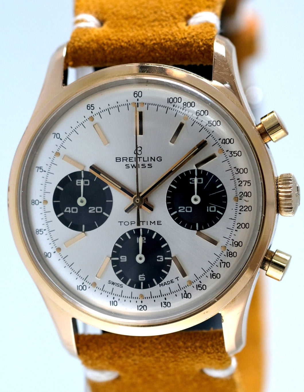 Breitling Chronograph in Gold Ref. 810