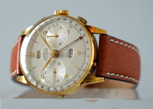 Load image into Gallery viewer, Angelus Chronodato Triple Date Chronograph in Gold