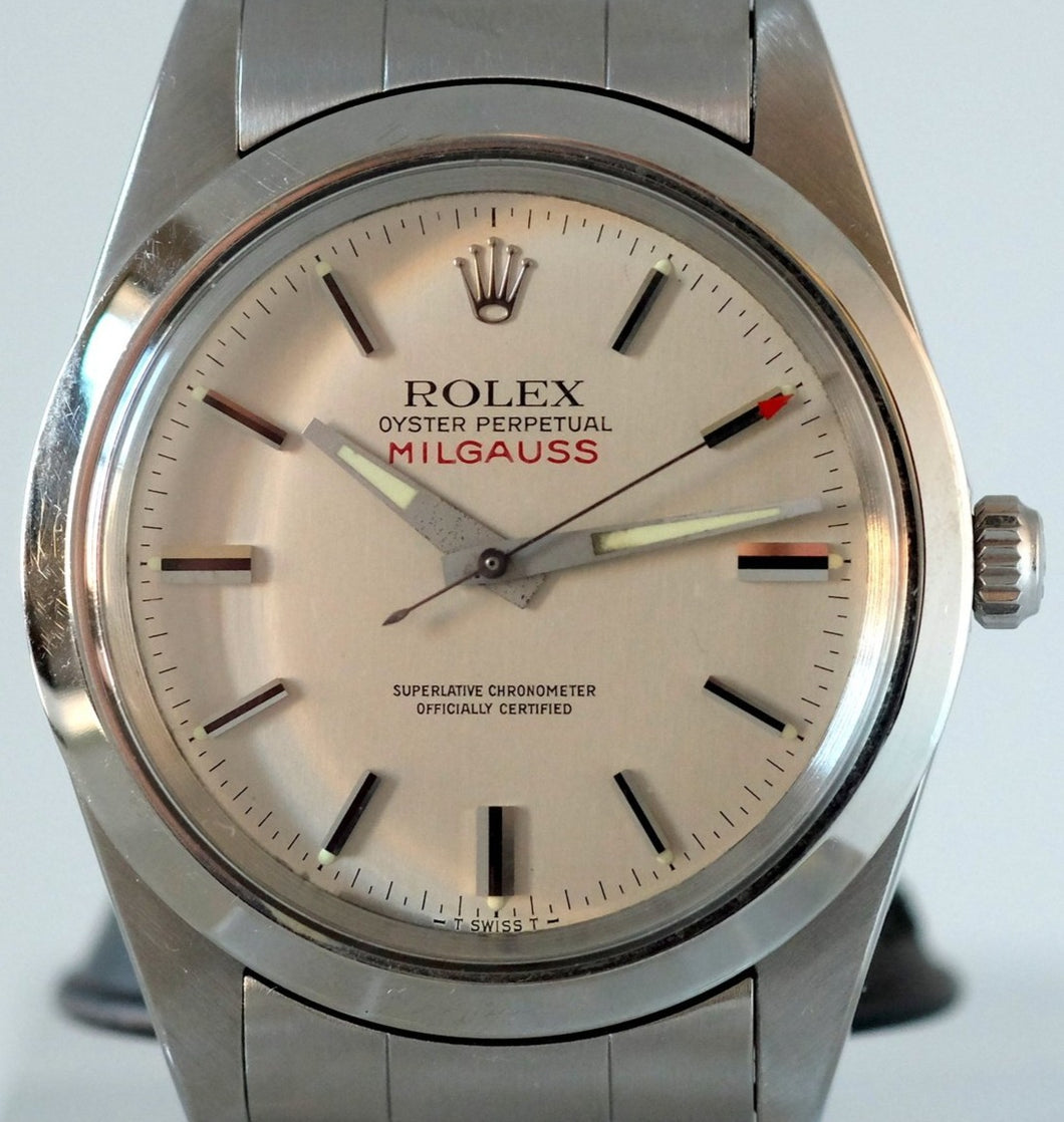 Rolex Milgauss Ref. 1019 with White Dial