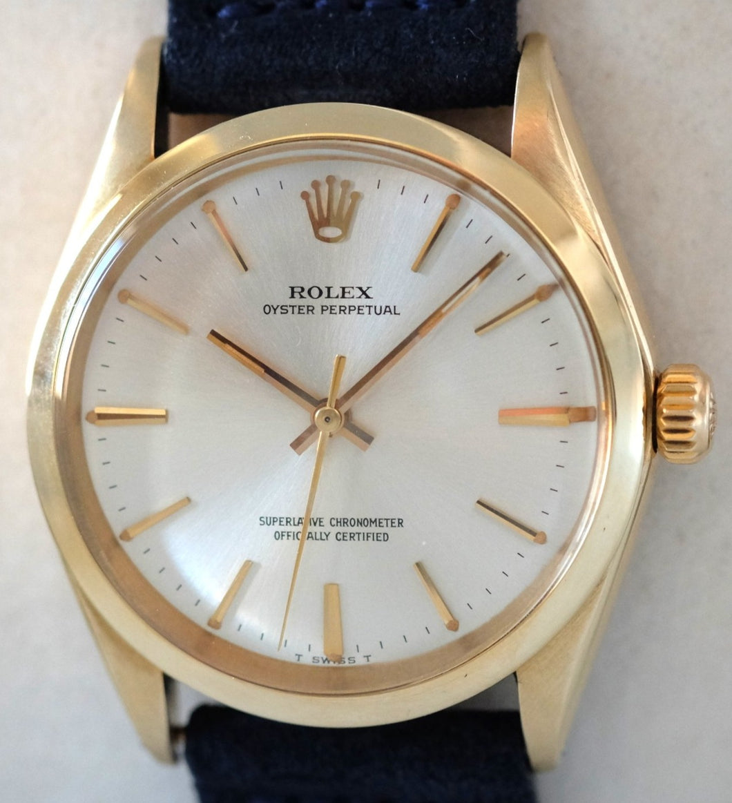 Rolex Oyster Perpetual in Yellow Gold Ref. 1012
