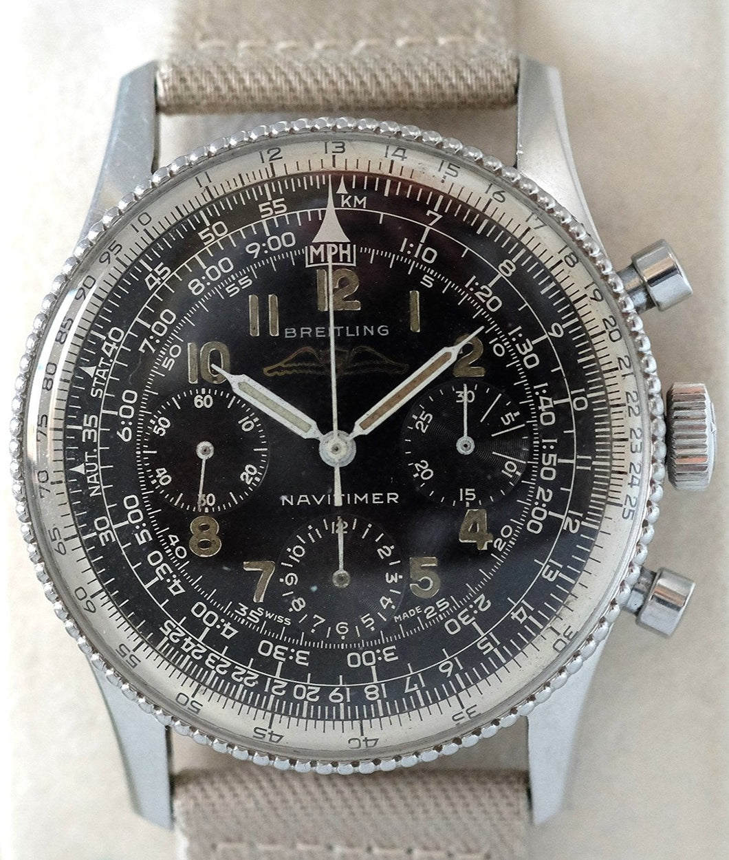 Breitling Navitimer Beaded Ref 806 with AOPA Logo
