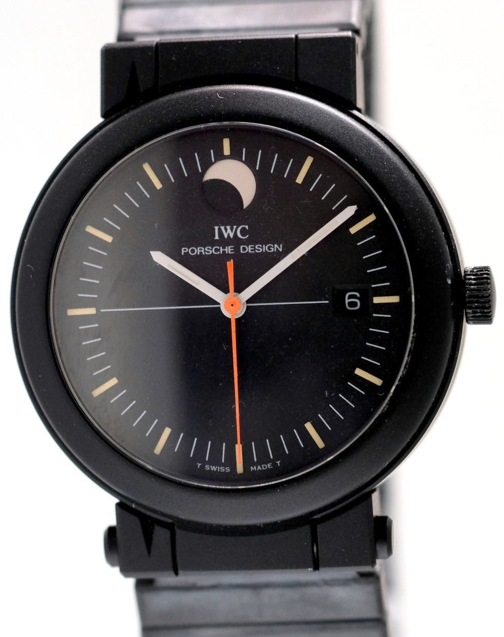 Porsche Design by IWC Compass Watch with Moonphase