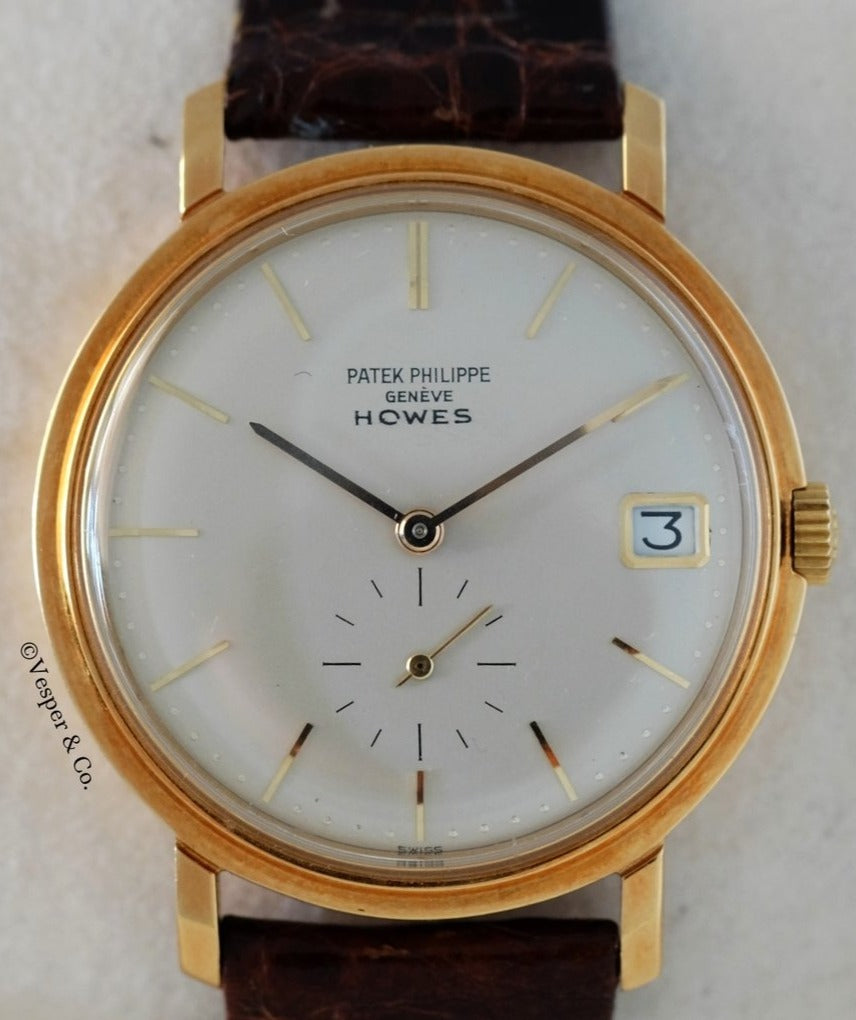 Patek Philippe Ref. 3445 Retailed By Howes