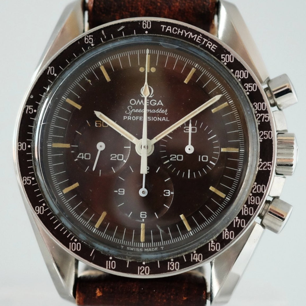 Omega Speedmaster Professional with Tropical Dial Ref. 145.022.69 ST