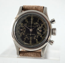 Load image into Gallery viewer, Gallet MultiChron 30mm Clamshell Chronograph with Gilt Dial