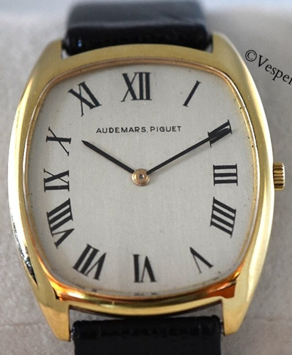 Audemars Piguet 18K Ultra Thin Tonneau Dress Watch