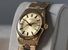 Load image into Gallery viewer, Rolex New Old Stock Mid-Size Oyster Perpetual Ref. 6551