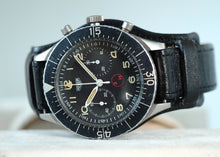 Load image into Gallery viewer, Heuer Bundeswehr Flyback Chronograph with Decommission Papers