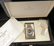 Load image into Gallery viewer, Patek Philippe Worldtime Platinum Ref. 5131P