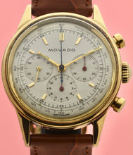 Load image into Gallery viewer, Movado M95 Gold Chronograph