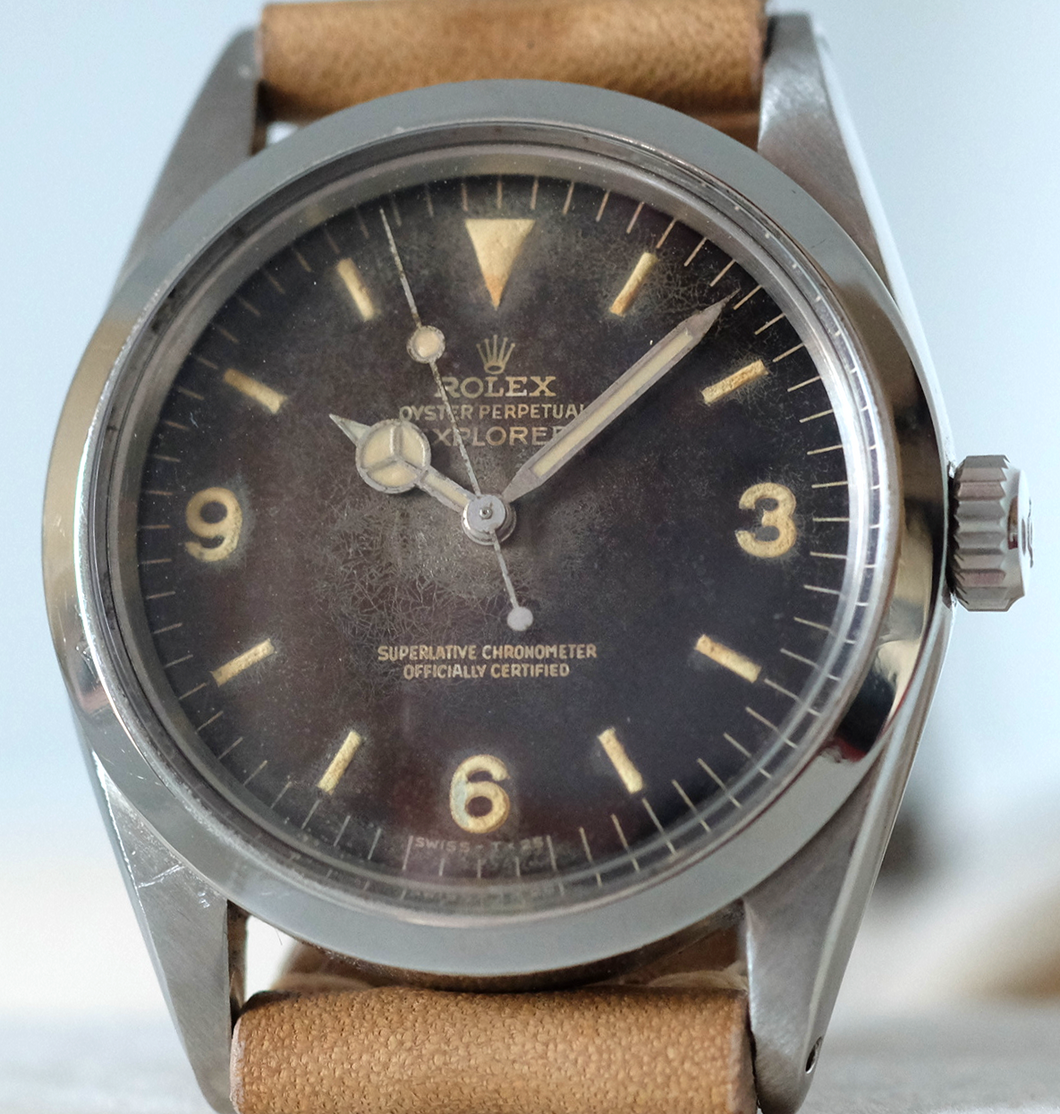 Rolex Explorer Ref. 1016 with Tropical Dial