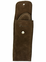Load image into Gallery viewer, Suede Leather Watch Pouch in Chocolate