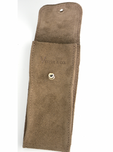 Load image into Gallery viewer, Suede Leather Watch Pouch in Clay