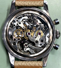 "Load image into Gallery viewer, Tissot ""Radium"" Chronograph for Galli Zurich Circa 1950s"