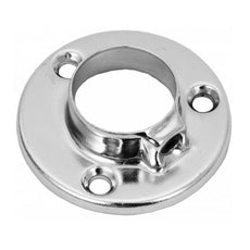 Low Flange for 1 inch Pipe, Chrome