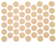 Screw cover caps Self-Adhesive - Beige 9/16 inch