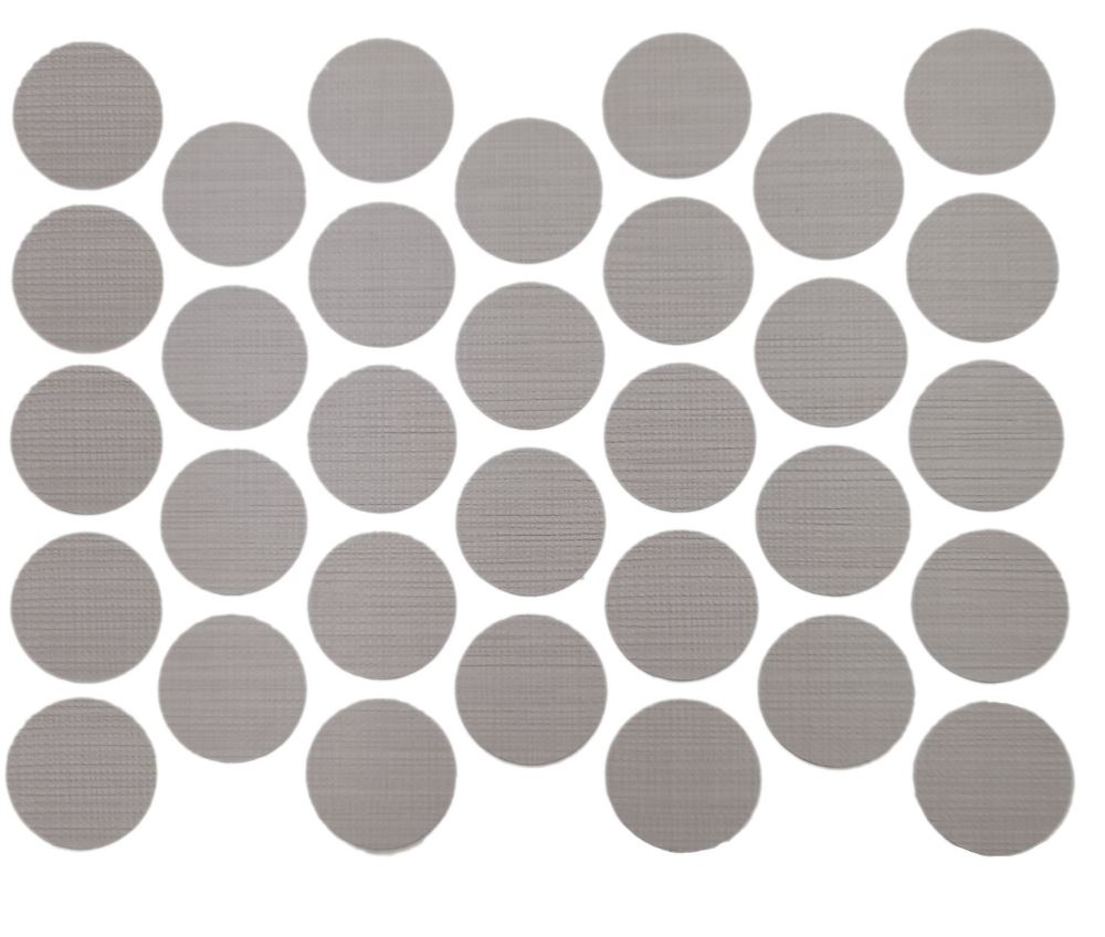 Screw cover caps Self-Adhesive - Trend Grey 11/16 inch