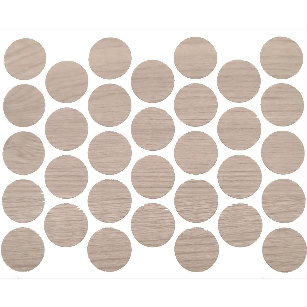 Screw cover caps Self-Adhesive - White Pine 11/16 inch