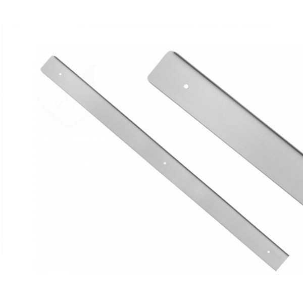 Side Strip for 38mm Worktop R-3, Silver Anodized