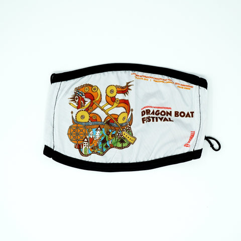 2013 Canadian International Dragon Boat Festival 2-Layer Fabric Face Mask