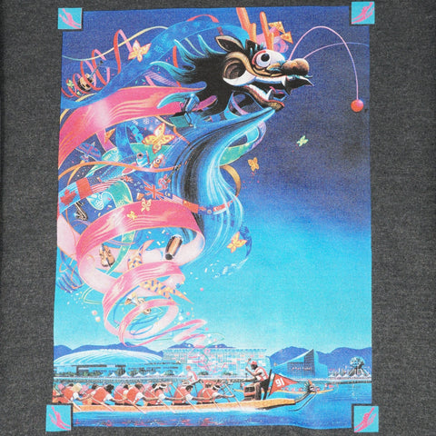 1991 Canadian International Dragon Boat Festival - Charcoal Crewneck Sweatshirt