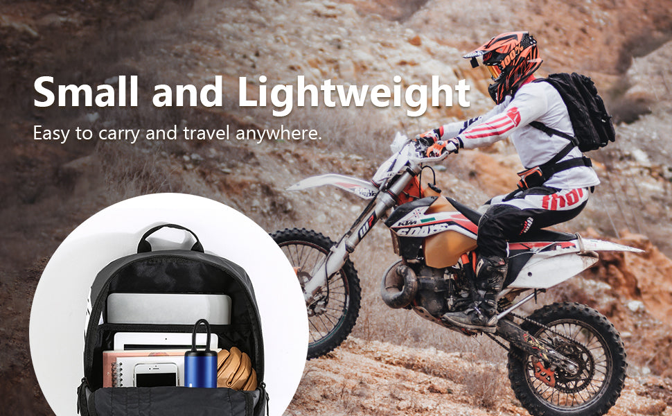 Z-EDGE ZAI01 Portable Inflator, Small and lightweight, easy to carry