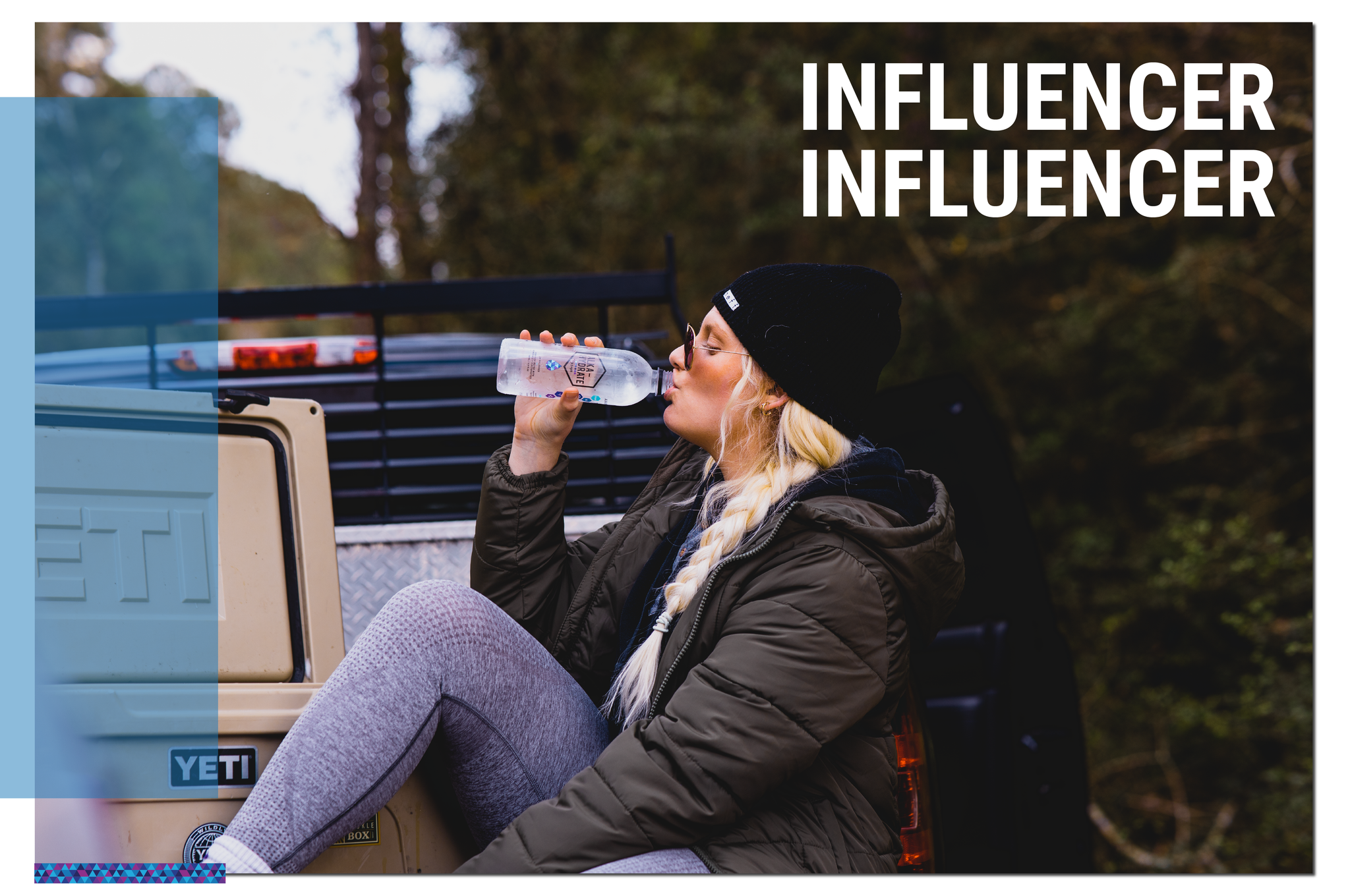 alka-hydrate alkaline water influencer signup