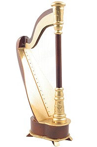 Mini Musical Harp Replica