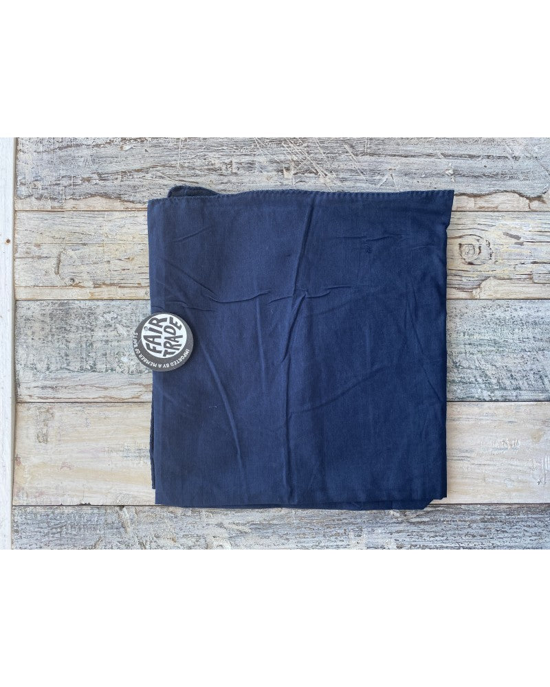 Load image into Gallery viewer, Navy Blue Headscarve
