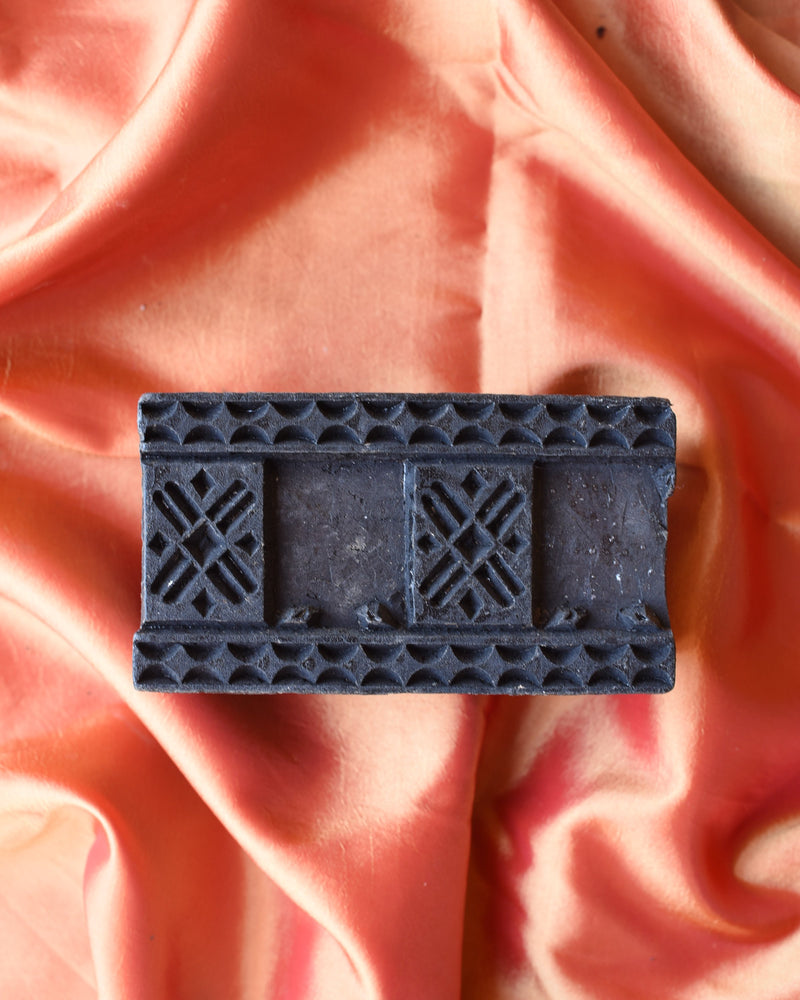 Original Wooden Printing Block - 46
