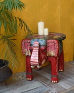 Red Elephant Table