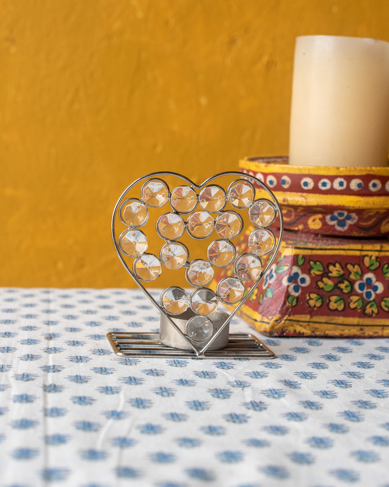 Sparkle Heart Votive