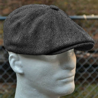 wool Unisex Autumn Winter Newsboy Caps Men And Women Warm Tweed Octagonal Hat For Male Detective Hats Retro Flat Caps chapeau
