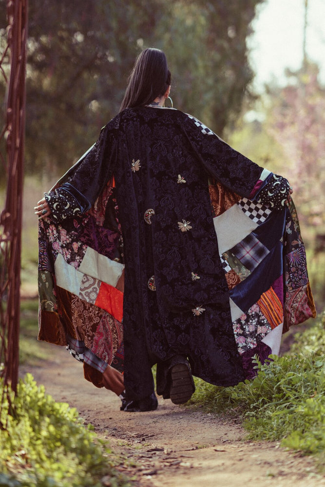 Load image into Gallery viewer, Custom Patchwork Kimono