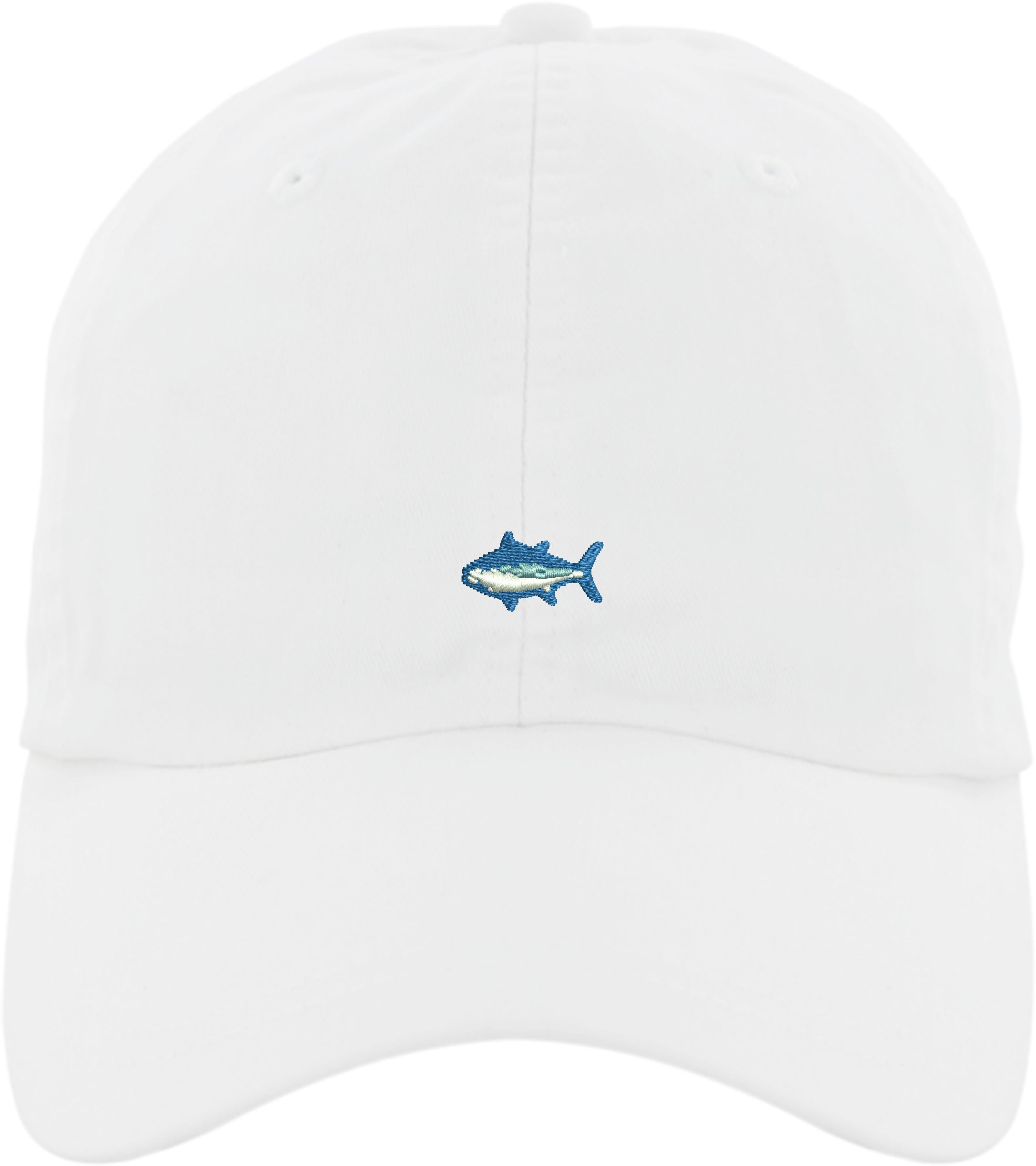 Ladies Reely Blessed Tuna Hat, White