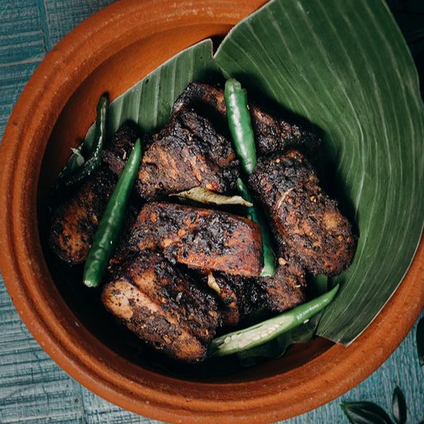 Ambul Thiyal Tuna Steak, Delivering UK Nationwide, Sri Lankan Curry by K+K Street Food