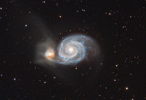 The Whirlpool Galaxy (M51)