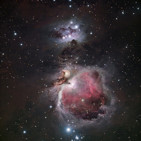 Orion (M42) & Running Man