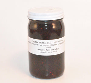 Triple Berry Amish Jam 9.4 oz