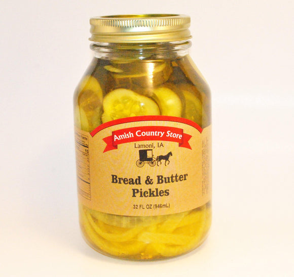 Bread & Butter Pickles 32 oz