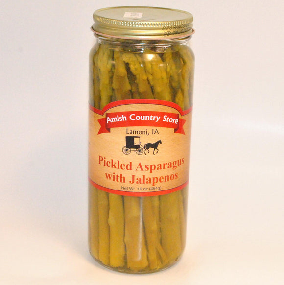 Pickled Asparagus with Jalapenos 16oz