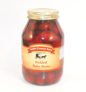 Pickled Baby Beets 32oz.