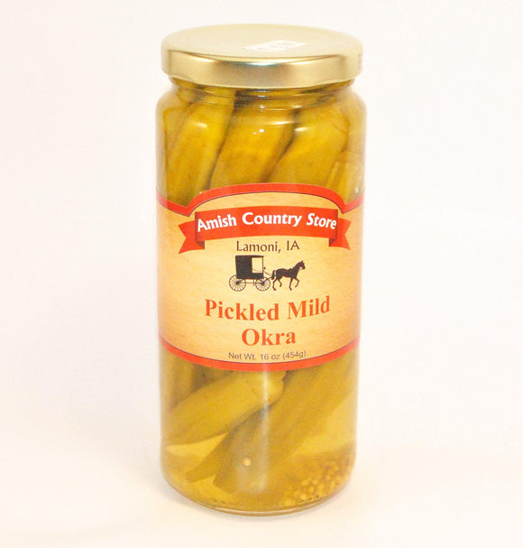 Pickled Mild Okra 16oz