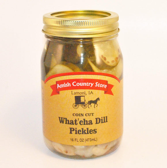 What'cha Dill Pickles 16 oz